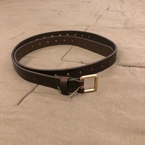 J. Crew brown belt - size XS/S